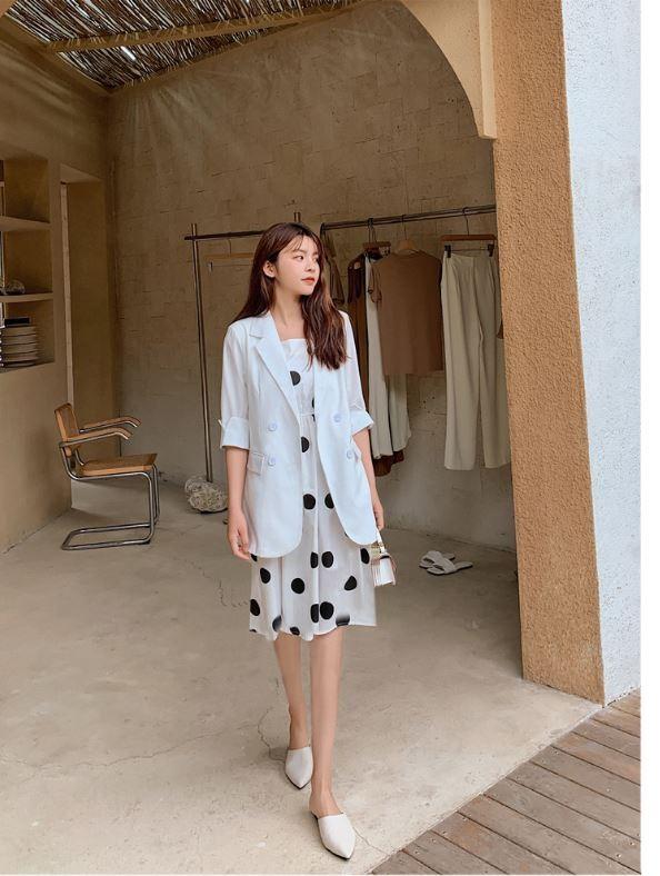 【現貨5.42IBV】960# 2021春夏新款韓版網紅休閒西裝外套