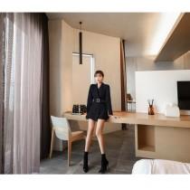 【現貨7.99IBV】名媛氣質西裝連身褲裙