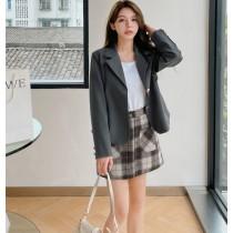 【預購6.99IBV】801# 韓版 溫柔系小西裝短版外套