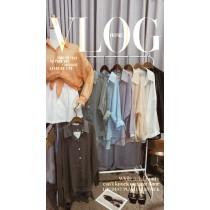 【現貨3.06IBV】法式 純色微透設計感 透膚襯衫